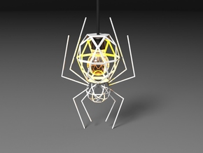 Spider Lamp in White Strong & Flexible