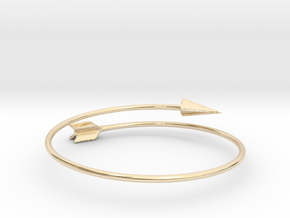 Arrow Bracelet in 14k Gold Plated