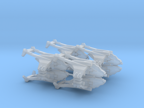 3mm 8x Assault Gunship in Frosted Extreme Detail