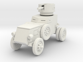 PV89 T7 Franklin Armored Car (1/48) in White Strong & Flexible
