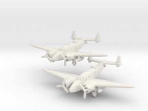 Lockheed PV-1 Ventura set (Two models) 6mm 1/285  in White Strong & Flexible