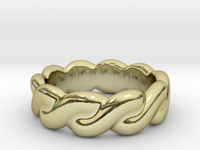 Love Affair 19 - Italian Size 19 in 18k Gold Plated