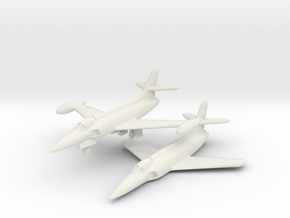 Lockheed XF-90 Pair 6mm 1/285 in White Strong & Flexible