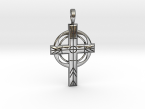 ZODIAC CROSS in Premium Silver