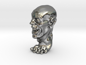 Foot Guy Solid 1'' in Polished Silver