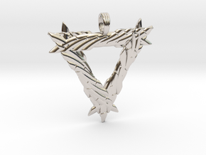LIFESPRING in Rhodium Plated