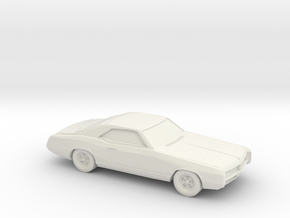 1/87 1966 Buick Riviera in White Strong & Flexible