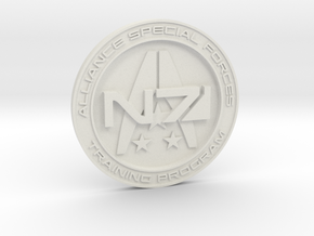 Alliance Special Forces Badge in White Strong & Flexible