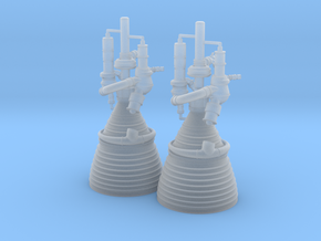 J-2 Engines (1:70 Set of 2) in Frosted Ultra Detail