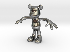 MOUSE KITOY in Premium Silver
