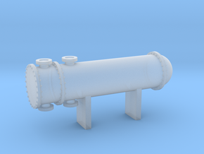 N Scale Heat Exchanger #2 in Frosted Ultra Detail