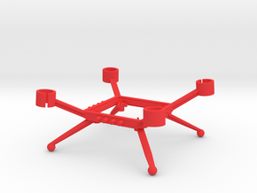 Minicopter-201510 in Red Strong & Flexible Polished
