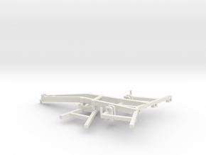 1/64 DMI Ecolo Tiger frame part I of kit in White Strong & Flexible