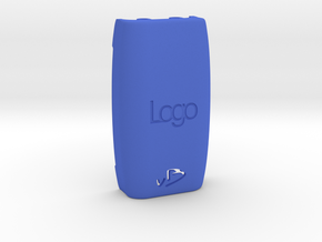 DNA200 - Personalised Ergonomic Extended Back in Blue Strong & Flexible Polished