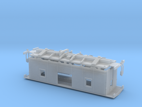 NAR Bay Window Caboose S Scale in Frosted Ultra Detail
