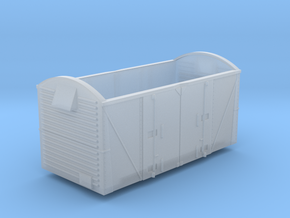 N gauge VEA Van body to fit Peco 10ft Chassis in Frosted Extreme Detail