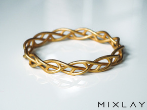 Braidlet Slim in Polished Gold Steel