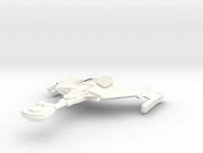 D 12 BattleCarrier in White Strong & Flexible Polished