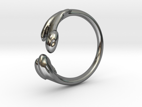 Femur Ring - Size 8 in Premium Silver