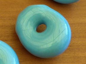 Topology joke (porcelain) step 6 in Gloss Blue Porcelain