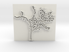 Tree in White Strong & Flexible