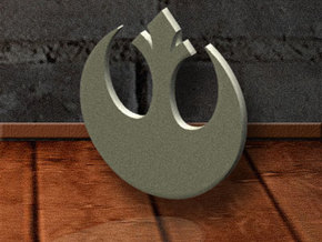 Rebel-Alliance Pendant in Stainless Steel