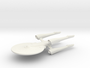 Uss Republica in White Strong & Flexible