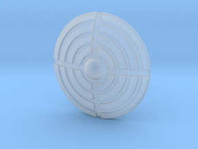 Miniature Shield 2 in Frosted Extreme Detail