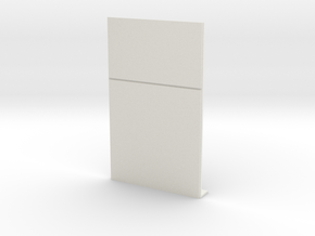 Blank Wall #2 in White Strong & Flexible