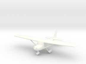 Cessna 152 in 1/96 Scale in White Strong & Flexible Polished
