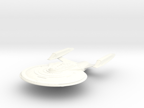 Sharp Class Cruiser in White Strong & Flexible Polished