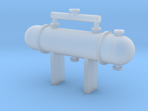 N Scale Heat Exchanger #1 in Frosted Ultra Detail