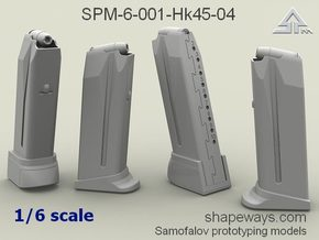 1/6 SPM-6-001-Hk45-04 H&K 45 mags in Frosted Extreme Detail