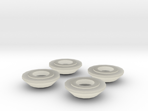 HO Scale Ceiling Light Cover in Transparent Acrylic