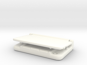 Nintendo 3dsX: mini 1/6 scale in White Strong & Flexible Polished