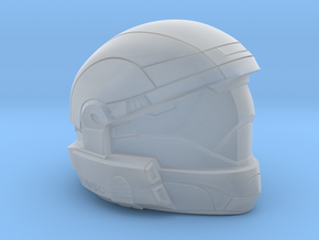 Halo 3 Odst custom 1/6 scale helmet in Frosted Ultra Detail