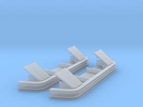 AC0001 CN Anti-climber High Bottom Plates 1/87.1 in Frosted Extreme Detail