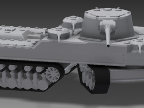 1/100 JN-129 Armament and Front Tracks in White Strong & Flexible