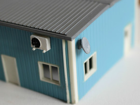 N Scale 6x Aircon Unit in Frosted Ultra Detail