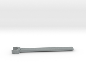 M5 Spanner in Polished Metallic Plastic
