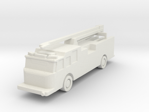 1:285 Pierce Impel Pumper with Squirt in White Strong & Flexible