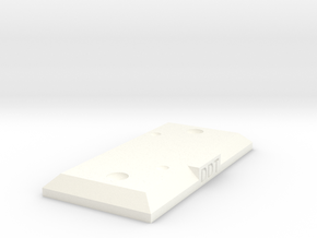 DDT Stand in White Strong & Flexible Polished