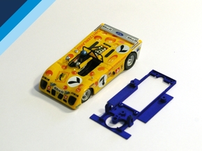 1/32 Sloter Lola T280 Chassis for Slot.it pod in Blue Strong & Flexible Polished