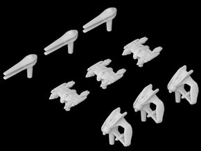 (Armada) Separatist Fighter Set 2 in Frosted Ultra Detail
