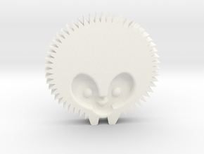 Hedgehog by it's a CYN! in White Strong & Flexible Polished