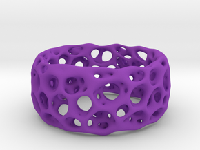 Frohr Design Radiolaria XL in Purple Strong & Flexible Polished