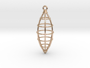 Pendant in 14k Rose Gold Plated