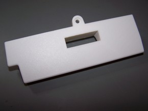 Commodore Amiga CD32 DVI Expansion Cover in White Strong & Flexible Polished