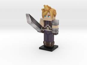 Cloud (FF7) in Full Color Sandstone