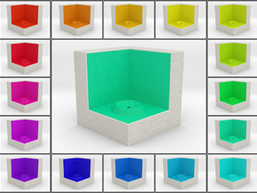 LuminOrb 1.5 - Cube Stand in Full Color Sandstone